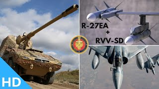 Indian Defence Updates : UAE Buys 50000 Shells,IAF Buys 130Km R-27EA,Bhabha Kavach Export,BECA Pact