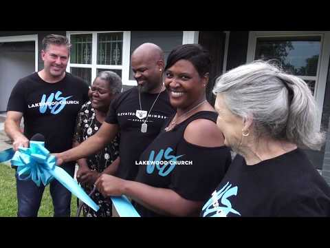 Lakewood Church - Helping Rebuild Lives and Homes more than a year after Hurricane Harvey