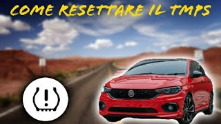 Reset spia pressione pneumatici Fiat Tipo