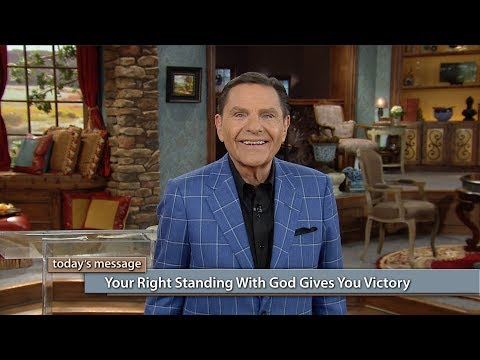 Your Right-Standing With God Gives You Victory