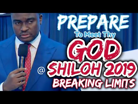 Pastor Oyedepo Jr. Prepare To Meet Thy God @ Shiloh 2019