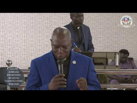 PROPHETIC SUNDAY & THANKSGIVING SERVICE OF C.A.C CANAAN LAND IGANDO