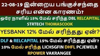 பங்குச்சந்தை இன்று எப்படி இருந்தது?|22-08-19| How To Earn Profit |Tamil|Aliceblue|Zerodha|CTA