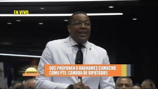 Proceso antes de juramentar de Radhamés Camacho como presidente de la cámara de diputados Parte 2