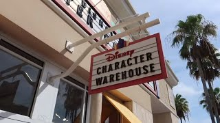 Disney Character Warehouse Update - July 10th