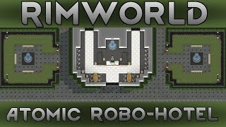 [68] Building The Biggest Reactor | RimWorld 1.0 Atomic Robo-Hotel