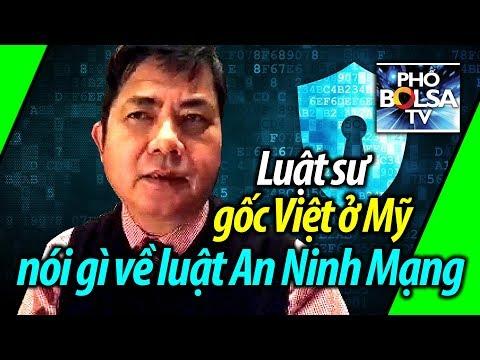 Luật sư/cựu nghị viên gốc Việt ở Mỹ nói gì về luật An Ninh Mạng?