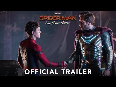 SPIDER-MAN: FAR FROM HOME - Official Trailer - UCz97F7dMxBNOfGYu3rx8aCw