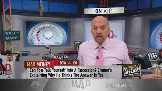 As investor confidence crumbles, the Fed can act to stave off a recession: Cramer