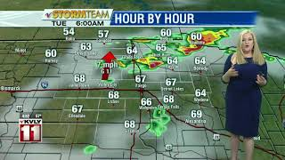 Weather Morning Forecast August 19