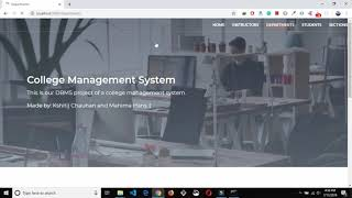 College Management System In ReactJs | Source Code & Projects