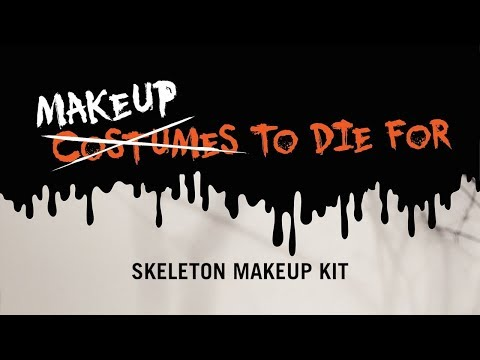 Makeup To Die For - Skeleton Makeup Kit with Yvette Aragon - UCTEq5A8x1dZwt5SEYEN58Uw
