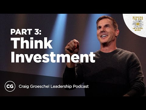 Think Investment Not Spending  Master Class