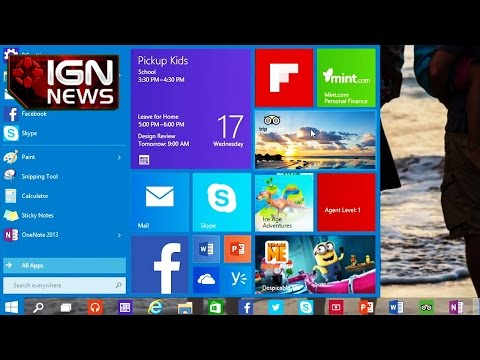 Windows 10 Name Likely Due to 20-Year Old Software Code - IGN News - UCKy1dAqELo0zrOtPkf0eTMw