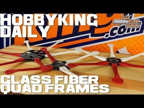 HobbyKing Daily - Glass Fiber Quadcopter Frames - UCkNMDHVq-_6aJEh2uRBbRmw