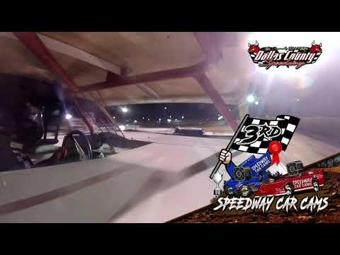 #77 Zack Willis - USRA Stock Car - 8-27-2021 Dallas County Speedway - In Car Camera - dirt track racing video image
