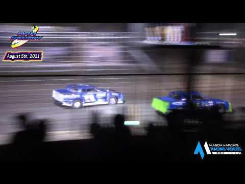 KRA Speedway WISSOTA Street Stock A-Main (8/5/21) - dirt track racing video image