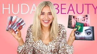 HUGE HUDA BEAUTY MAKEUP REVIEW // 2019 - WHAT TO BUY FROM HUDA BEAUTY
