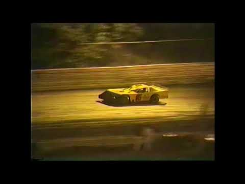Skagit Speedway Weekly Show August 24th, 1991 - dirt track racing video image