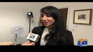 Geo News Special – Hadiqa Chaudhry Is Youngest Candidate Contesting European Elections