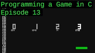 Making a game in C from scratch! Ep 13: [Main Menu, Save System, Implementing Sounds in the Game]