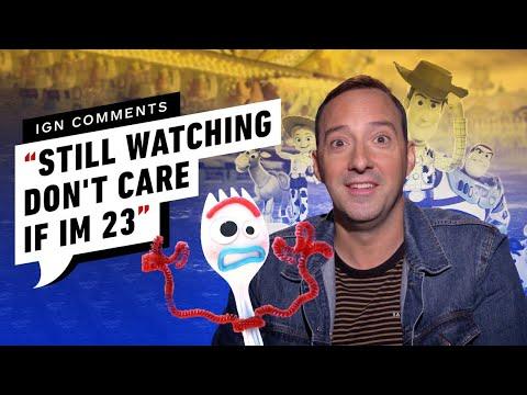 Tony Hale Responds to Toy Story 4 IGN Comments - UCKy1dAqELo0zrOtPkf0eTMw