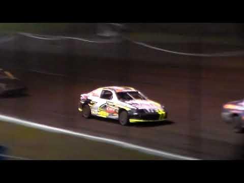 Sport Compact Amain @ Hancock County Speedway 05/18/18 - dirt track racing video image