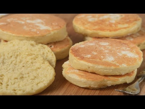 English Muffins Recipe Demonstration - Joyofbaking.com - UCFjd060Z3nTHv0UyO8M43mQ