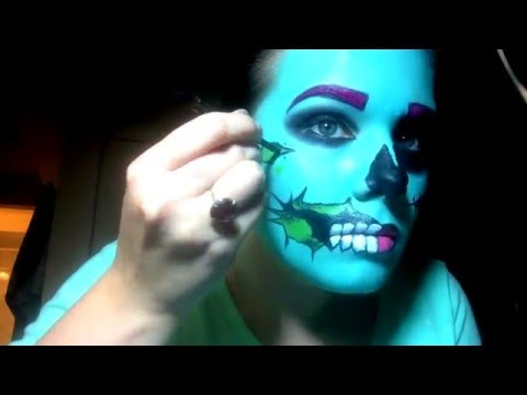 POP ART ZOMBIE - Time Lapse - Halloween Makeup - UCi4f-N4c9OdSOxaVIliS-nA