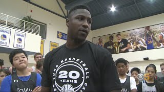 Oakland's Own Will Cherry Returns to The Town for Warriors Basketball Camp