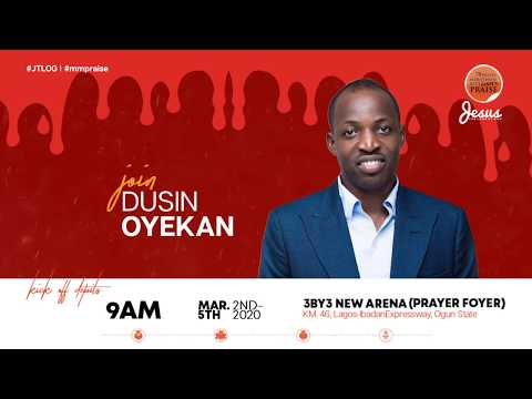DUNSIN OYEKAN  MARATHON MESSIAH'S PRAISE 2020 INVITATION