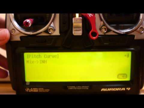 [Video]:  Aurora 9 ile Throttle Hold, Idle-up ayarlamak ve phoenix ile kullanmak