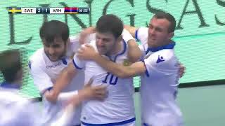 FIFA Futsal World Cup / Lithuania 2020 - Group E - Sweden 3x1 Armenia
