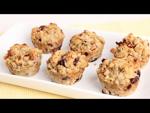 Stuffing Muffins Recipe - Laura Vitale - Laura in the Kitchen Episode 987 - UCNbngWUqL2eqRw12yAwcICg