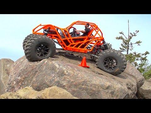 TANGO - Rear Wheel Steering - Backyard Rock Course | RC ADVENTURES - UCxcjVHL-2o3D6Q9esu05a1Q
