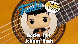 Johnny Cash Playing Guitar Funko Pop unboxing (Rocks 117)