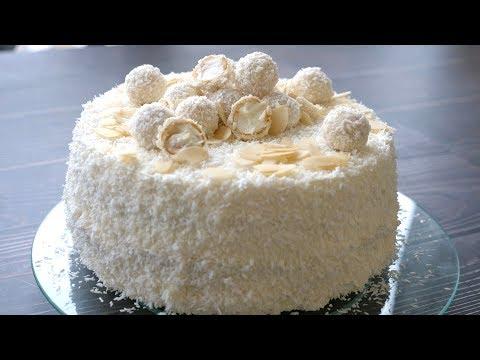 Торт «РАФАЭЛЛО» Какой Же Он Вкусный !!!