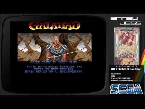 THE LEGEND GALAHAD Sega Mega Drive by Jon Burton