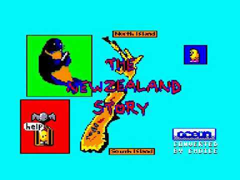 The New Zealand Story - Amstrad CPC Longplay