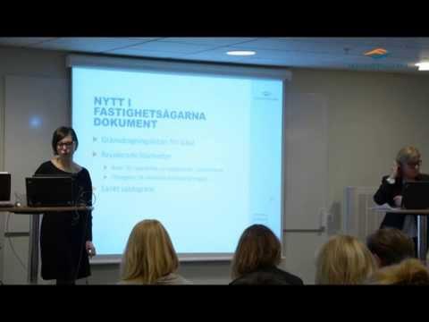Fastihetsägarna Dokument användarmöte 13/3- 2014