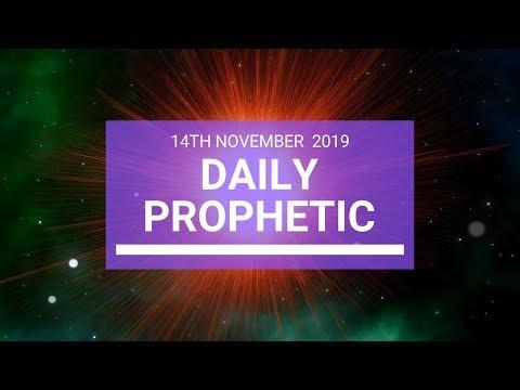 Daily Prophetic 14 November Word 3