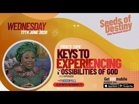Dr Becky Paul-Enenche - SEEDS OF DESTINY  WEDNESDAY JUNE 17, 2020