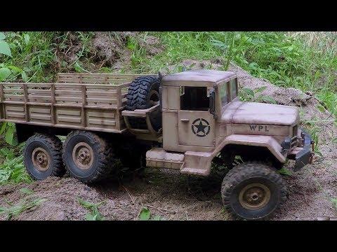 WPL B-16 - rusty REO 6x6 - UCfQkovY6On1X9ypKUr9qzfg