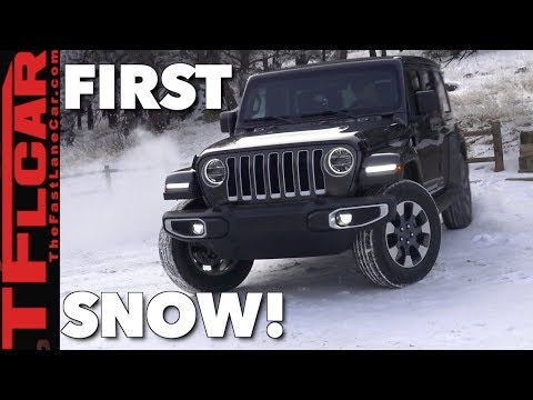 Does the New Jeep Wrangler JL Pass or Fail The Snow Test?