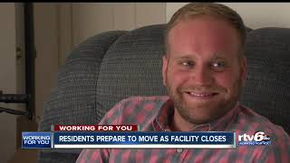 Residents prepare to move as facility closes