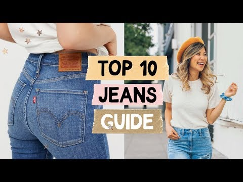Video: 10 Jeans EVERY Girl Needs! How to Find the Perfect Jeans!