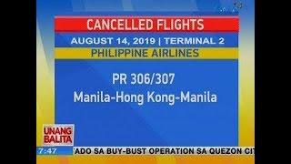 UB: Cancelled flights