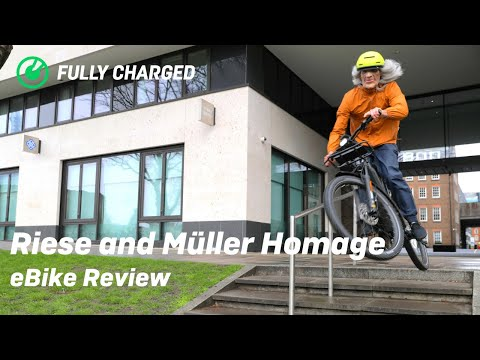 Are eBikes just for Grandads? | Riese and Müller Homage review
