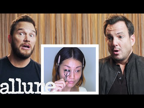 Chris Pratt and Will Arnett Narrate A Makeup Tutorial | Allure