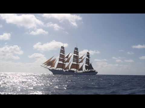 Skoleskibet DANMARK - from Tenerife to Rio de Janeiro - Olympic Voyage 2016